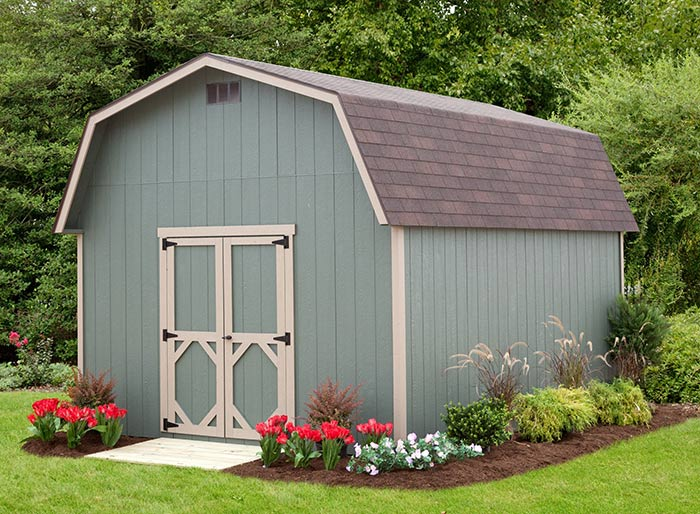 Tall Barnstyle Storage Shed Alpine Structures In