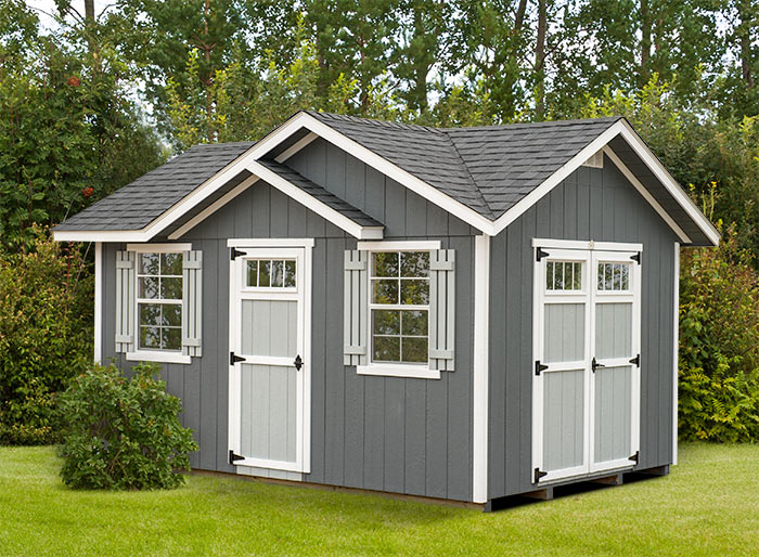 New Cove Style Storage Shed Alpine Structures In Winesburg Ohio
