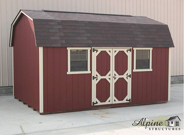 2000 Series Prebuilt Barnstyle 6ft 6in Alpine Structures