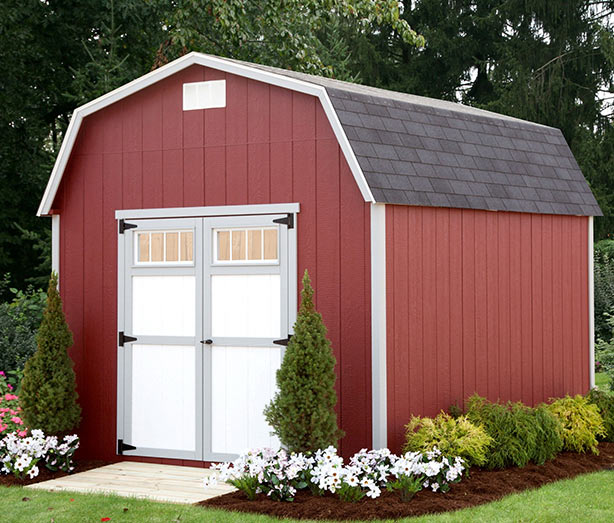 2000 Series 6' 6¨ Barn | Alpine Structures