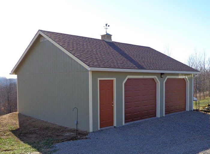 Garage Storage Sheds Alpine Structures In Amish Country