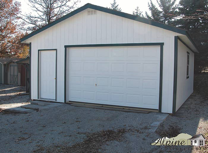 Garage Storage Sheds Alpine Structures In Amish Country Ohio