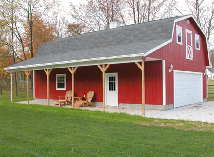 Loft Storage Barn Alpine Structures In Amish Country Ohio